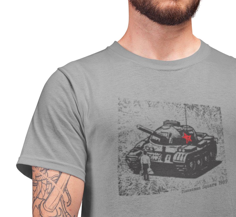tiananmen square tank man tshirt