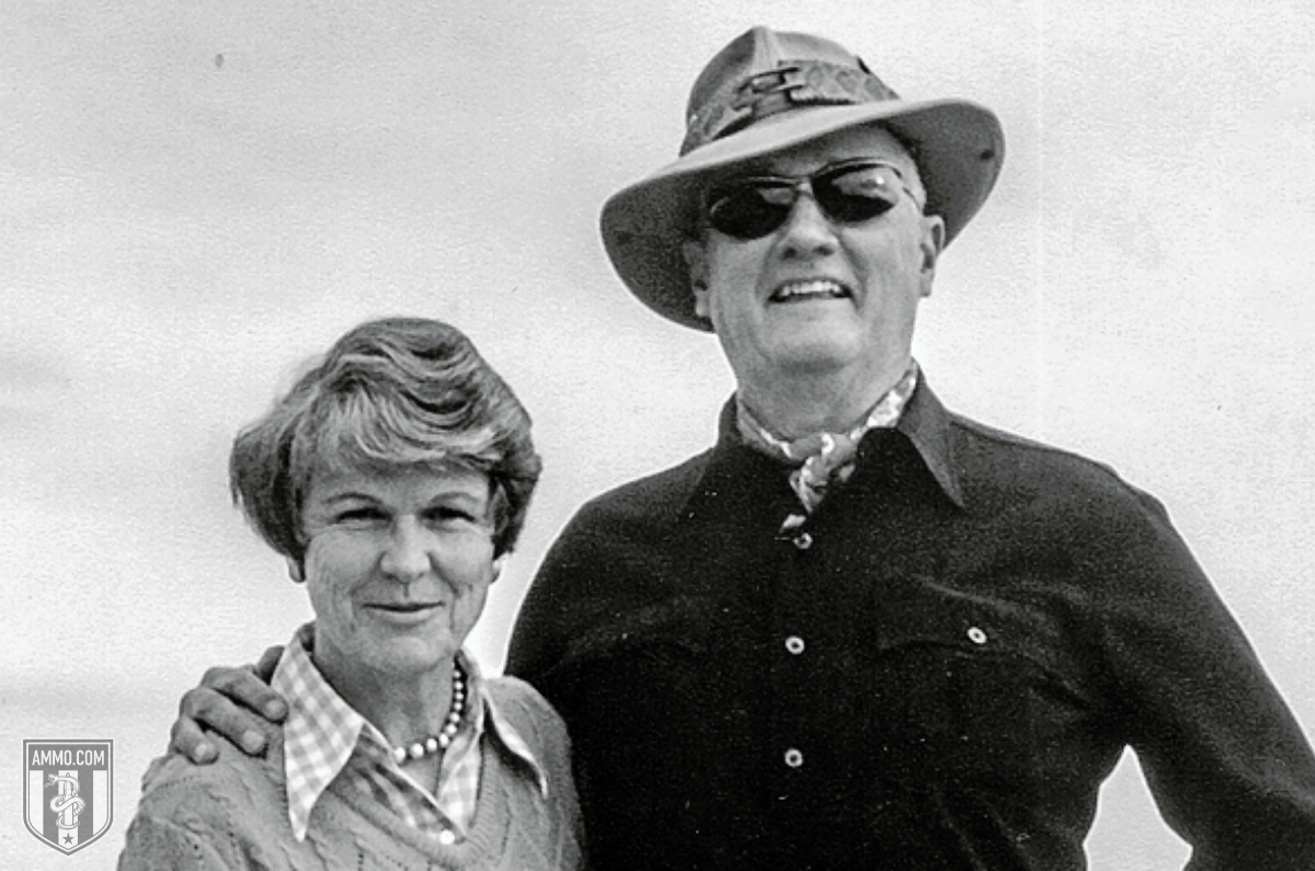 jeff cooper and his wife