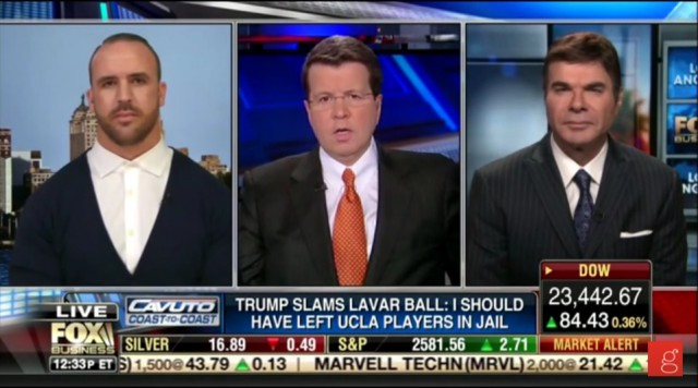 11/20/2017: Eric Schiffer: 'Marshawn Lynch Is a Globe-Trotting Hypocrite'